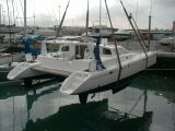 PatiCat Voyage 440 being launched in Cape Town, South Africa