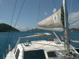 Picture of PatiCat Voyage 440 catamaran in Soper's Hole, BVI