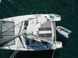 PatiCat Voyage 440 catamaran from the mast
